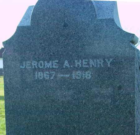 HENRY, JEROME A. - Ida County, Iowa   JEROME A. HENRY
