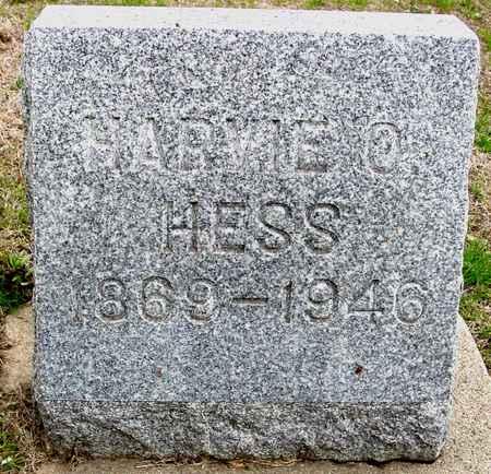 HESS, HARVIE O. - Ida County, Iowa | HARVIE O. HESS