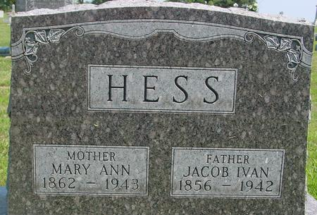 HESS, JACOB  IVAN - Ida County, Iowa | JACOB  IVAN HESS