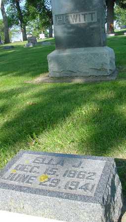 HEWITT, ELLA J. - Ida County, Iowa | ELLA J. HEWITT
