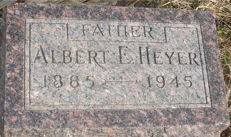 HEYER, ALBERT E. - Ida County, Iowa | ALBERT E. HEYER