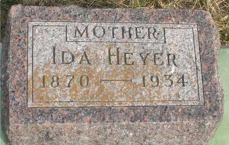 HEYER, IDA - Ida County, Iowa | IDA HEYER