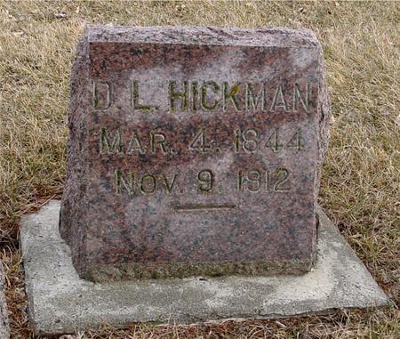 HICKMAN, D. L. - Ida County, Iowa | D. L. HICKMAN