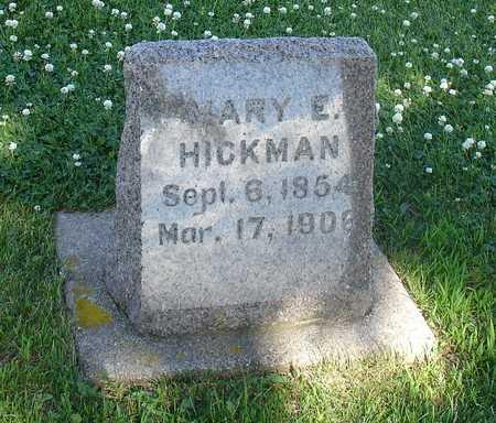 HICKMAN, MARY E. - Ida County, Iowa | MARY E. HICKMAN
