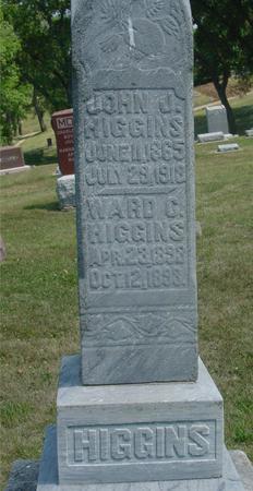 HIGGINS, JOHN & WARD - Ida County, Iowa | JOHN & WARD HIGGINS