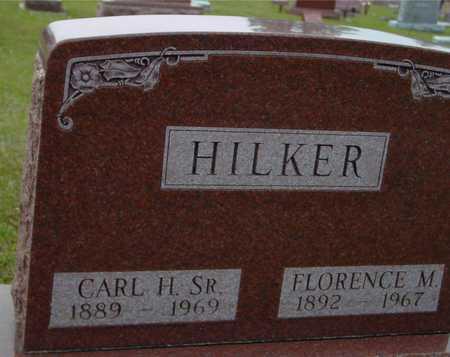 HILKER, CARL & FLORENCE M. - Ida County, Iowa   CARL & FLORENCE M. HILKER