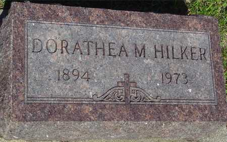 HILKER, DOROTHEA M. - Ida County, Iowa   DOROTHEA M. HILKER