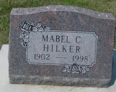 HILKER, MABEL C. - Ida County, Iowa | MABEL C. HILKER