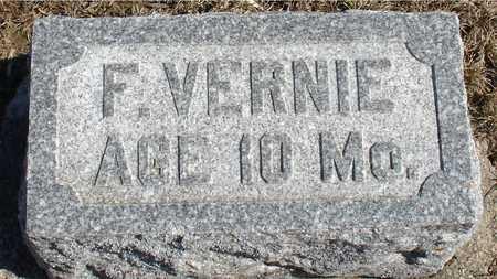 HINK, F. VERNIE - Ida County, Iowa | F. VERNIE HINK