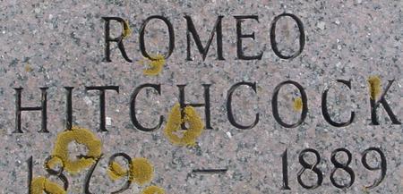 HITCHCOCK, ROMEO - Ida County, Iowa | ROMEO HITCHCOCK