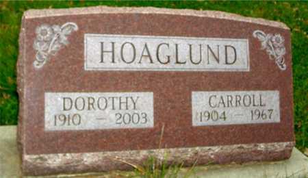 HOAGLUND, CARROLL & DOROTHY - Ida County, Iowa   CARROLL & DOROTHY HOAGLUND