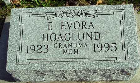 HOAGLUND, F.  EVORA - Ida County, Iowa | F.  EVORA HOAGLUND