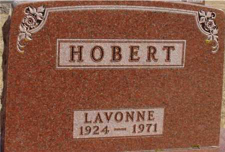 HOBERT, LAVONNE - Ida County, Iowa | LAVONNE HOBERT