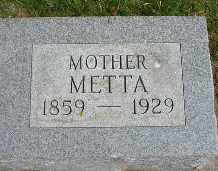 HOEFFT, METTA - Ida County, Iowa | METTA HOEFFT