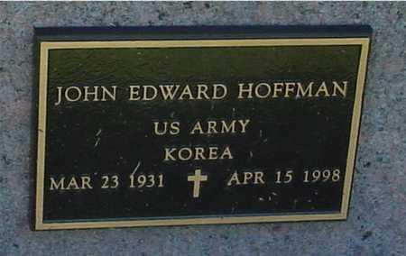 HOFFMAN, JOHN EDWARD - Ida County, Iowa | JOHN EDWARD HOFFMAN