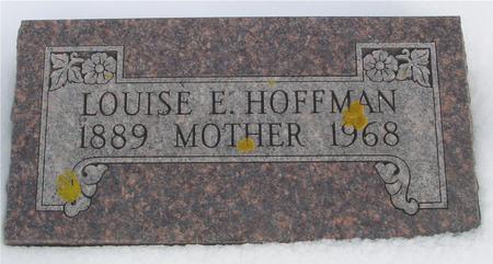 HOFFMAN, LOUISE E. - Ida County, Iowa | LOUISE E. HOFFMAN