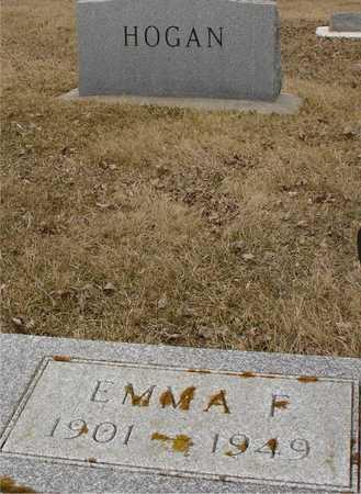 HOGAN, EMMA F. - Ida County, Iowa   EMMA F. HOGAN