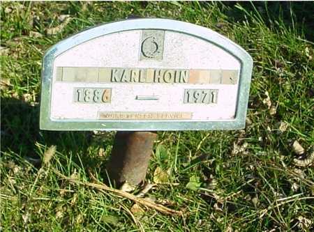 HOIN, KARL - Ida County, Iowa | KARL HOIN