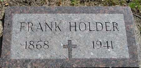 HOLDER, FRANK - Ida County, Iowa | FRANK HOLDER