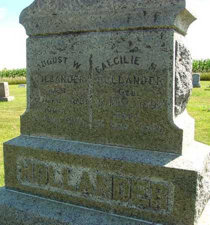 HOLLANDER, AUGUST W. - Ida County, Iowa | AUGUST W. HOLLANDER