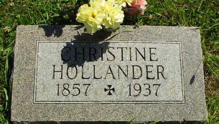 HOLLANDER, CHRISTINE - Ida County, Iowa | CHRISTINE HOLLANDER