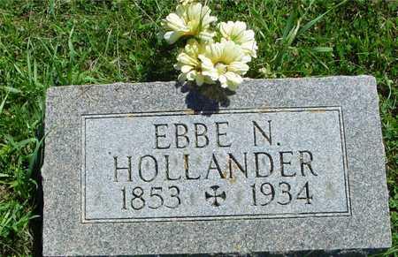HOLLANDER, EBBE N. - Ida County, Iowa | EBBE N. HOLLANDER