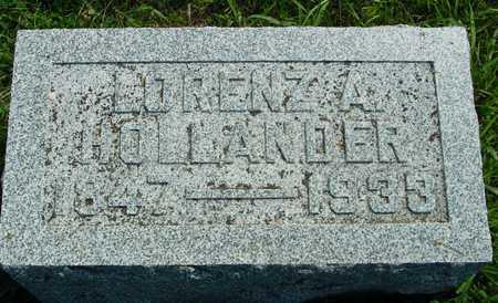 HOLLANDER, LORENZ A. - Ida County, Iowa   LORENZ A. HOLLANDER