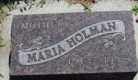 HOLMAN, MARIA - Ida County, Iowa | MARIA HOLMAN