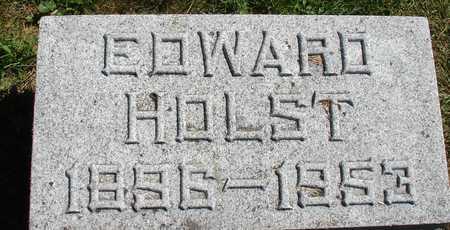 HOLST, EDWARD - Ida County, Iowa | EDWARD HOLST