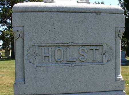 HOLST, FAMILY MARKER - Ida County, Iowa   FAMILY MARKER HOLST