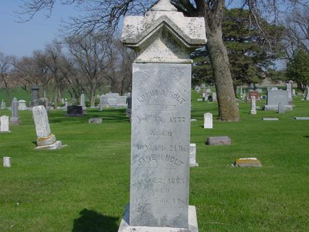 HOLT, LUCIUS - Ida County, Iowa | LUCIUS HOLT