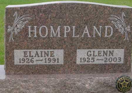 HOMPLAND, GLENN & ELAINE - Ida County, Iowa | GLENN & ELAINE HOMPLAND