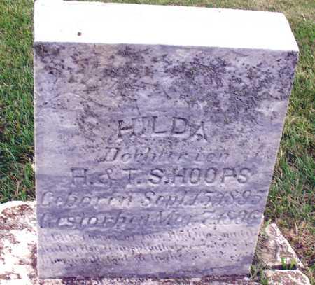 HOOPS, HILDA - Ida County, Iowa | HILDA HOOPS