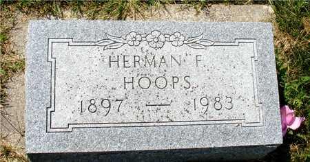 HOOPS, HERMAN F. - Ida County, Iowa   HERMAN F. HOOPS