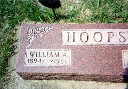 HOOPS, WILLIAM A. - Ida County, Iowa | WILLIAM A. HOOPS