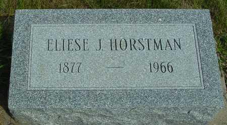 HORSTMAN, ELIESE J. - Ida County, Iowa | ELIESE J. HORSTMAN