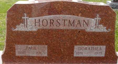 HORSTMAN, PAUL & DORATHEA - Ida County, Iowa | PAUL & DORATHEA HORSTMAN