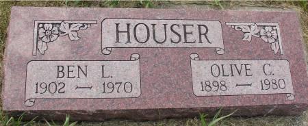 HOUSER, BEN L. - Ida County, Iowa | BEN L. HOUSER