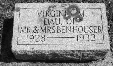 HOUSER, VIRGINIA M. - Ida County, Iowa   VIRGINIA M. HOUSER