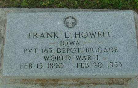 HOWELL, FRANK L. & EDITH - Ida County, Iowa | FRANK L. & EDITH HOWELL