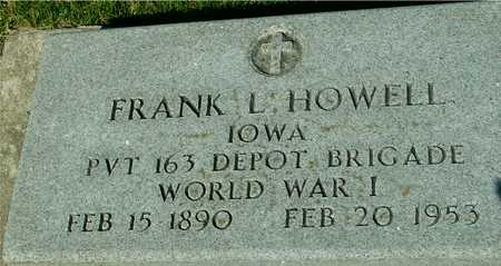 HOWELL, FRANK L. - Ida County, Iowa | FRANK L. HOWELL