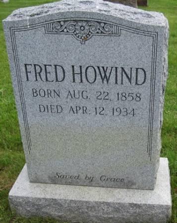 HOWIND, FRED - Ida County, Iowa | FRED HOWIND