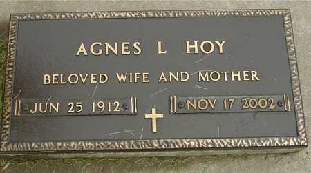 HOY, AGNES L. - Ida County, Iowa | AGNES L. HOY