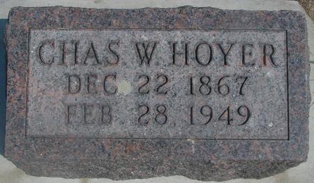 HOYER, CHARLES - Ida County, Iowa   CHARLES HOYER