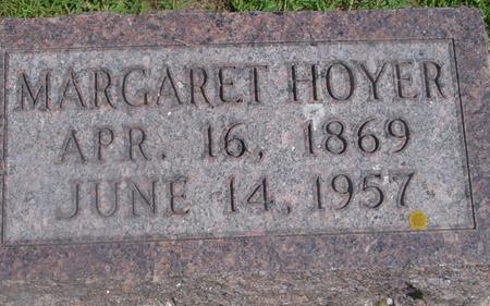 HOYER, MARGARET - Ida County, Iowa   MARGARET HOYER