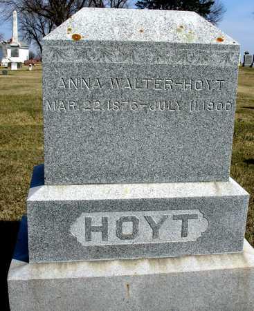WALTER HOYT, ANNA - Ida County, Iowa | ANNA WALTER HOYT
