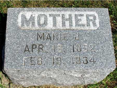 HUENECKE, MARIE J. - Ida County, Iowa | MARIE J. HUENECKE