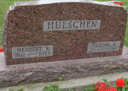 HUESCHEN, HERBERT & CLEONE - Ida County, Iowa | HERBERT & CLEONE HUESCHEN