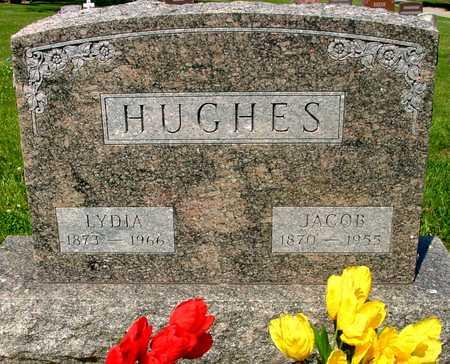 HUGHES, JACOB & LYDIA - Ida County, Iowa   JACOB & LYDIA HUGHES