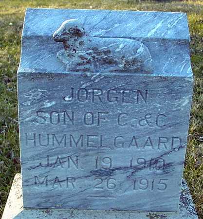 HUMMELGAARD, JORGEN - Ida County, Iowa   JORGEN HUMMELGAARD